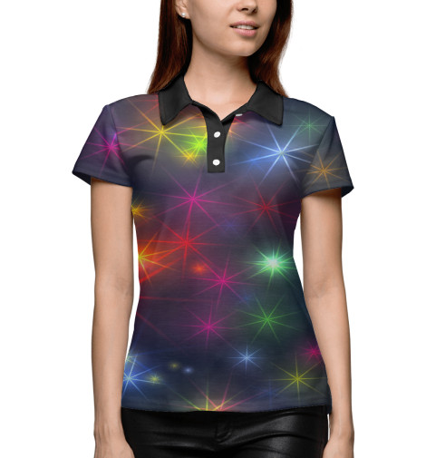 Купить Поло для девочки Звёзды MAC-646532-pol-1