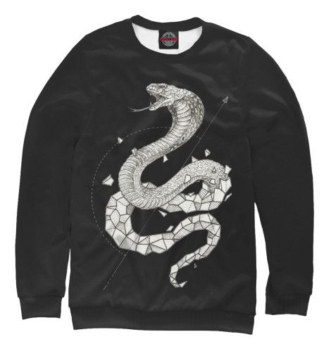 Свитшот Print Bar Geometric dark snake свитшот print bar pantera skull and snake