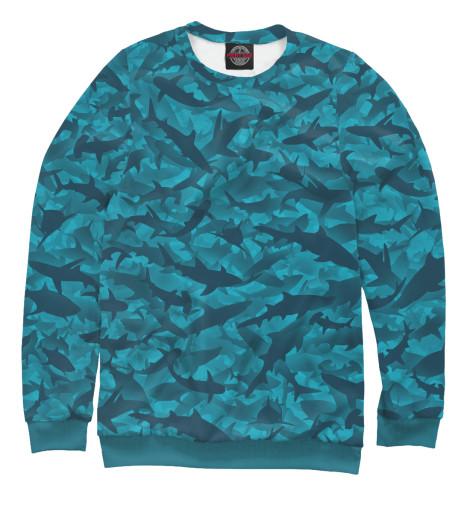 Свитшот Print Bar Акулы серова м клад белой акулы