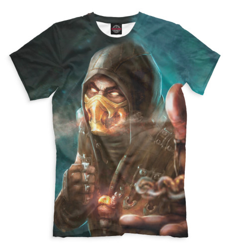 Мужская футболка Scorpion