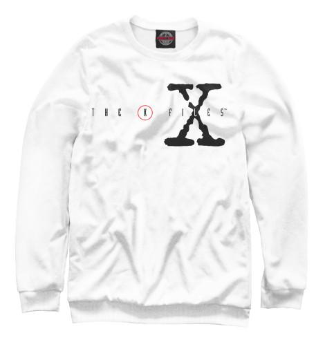 Свитшот Print Bar The X-Files logo fidelity files the