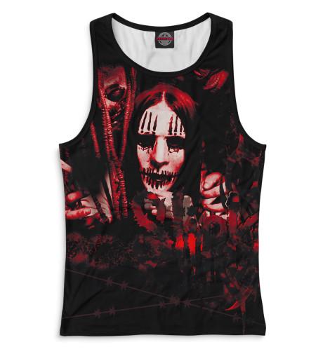 Женская майка-борцовка Slipknot