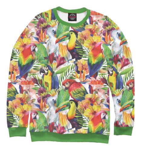 Свитшот Print Bar Попугаи шорты print bar попугаи
