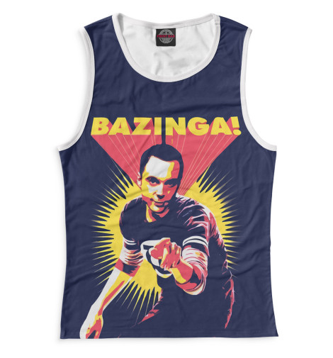 Купить Майка для девочки Bazinga! TEO-116277-may-1