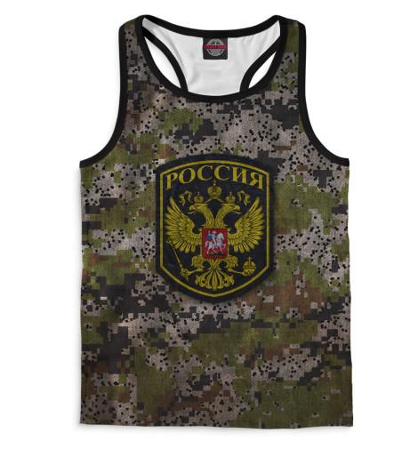 Мужская майка-борцовка Россия Print Bar SRF-891907-mayb-2