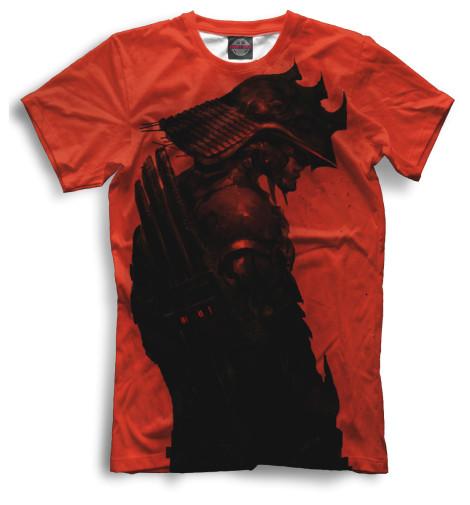 Мужская футболка Самурай