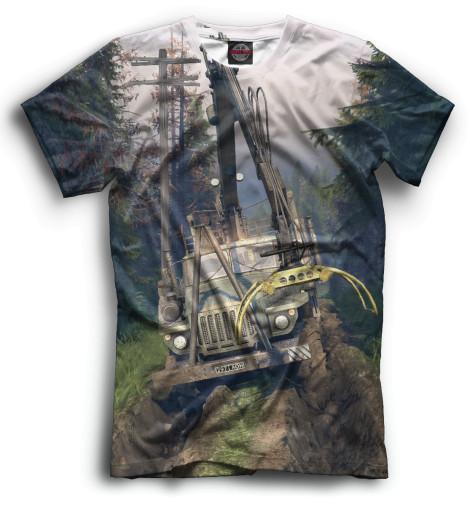 Мужская футболка Spintires