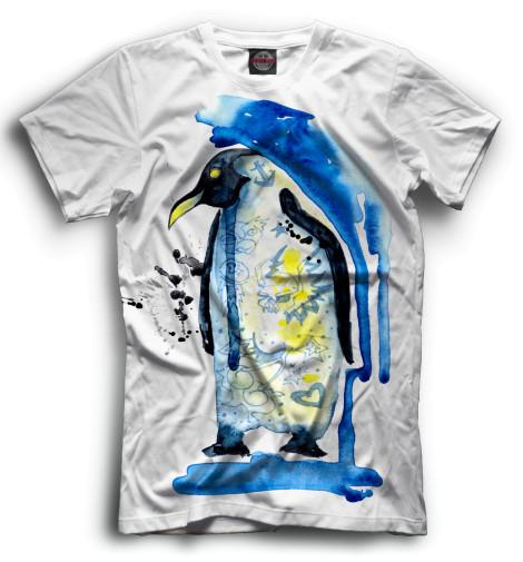 Мужская футболка Пингвин