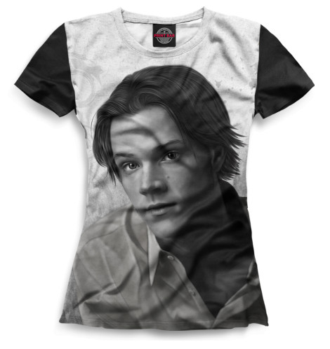 Женская футболка Сэм Винчестер