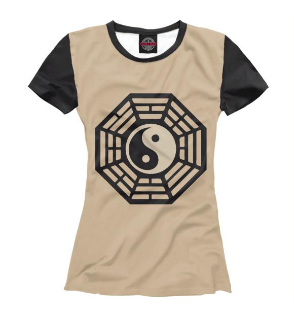 Купить Женская футболка ИНЬ и ЯНЬ PSY-189965-fut-1