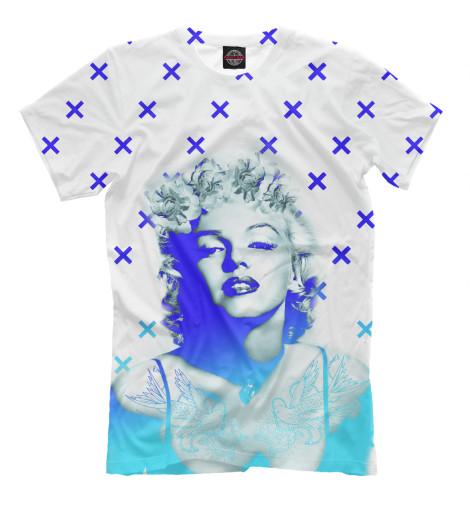 Футболка Print Bar Marilyn Monroe помада max factor marilyn monroe lipstick 04