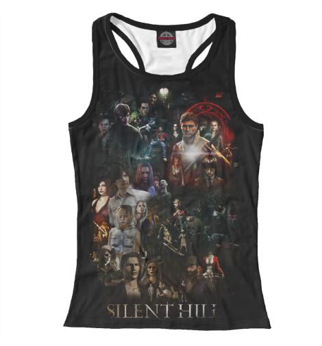 Майка борцовка Print Bar Silent Hill new silent hill downpour xb360 by konami 30121