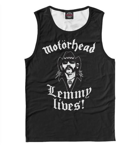 Майка Print Bar Motorhead. Lemmy Lives. print bar motorhead