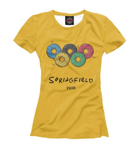Футболка Print Bar Springfield 2020 чиносы springfield springfield sp014emvgd97