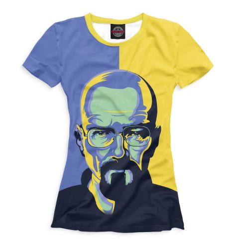 Купить Женская футболка Хайзенберг VVT-848746-fut-1