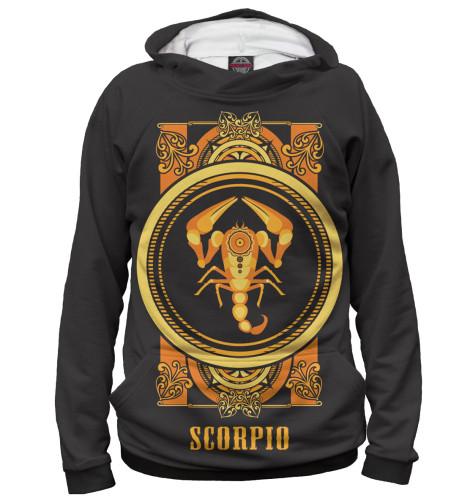 Мужское худи Скорпион