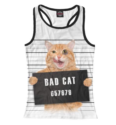 Майка борцовка Print Bar Плохой кот майка борцовка print bar плохой санта