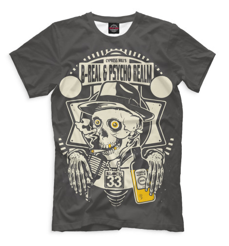 Мужская футболка Cypress Hill