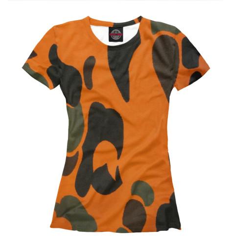 цены Футболка Print Bar Оранжевый хаки