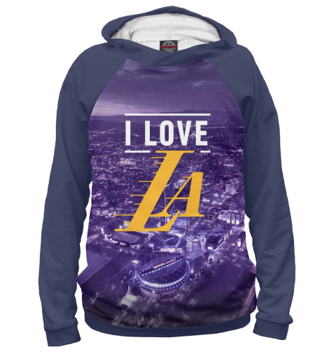 Худи Print Bar Los Angeles Lakers чехол для iphone 6 глянцевый printio los angeles lakers