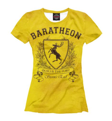Купить Женская футболка Дом Баратеонов IGR-820969-fut-1