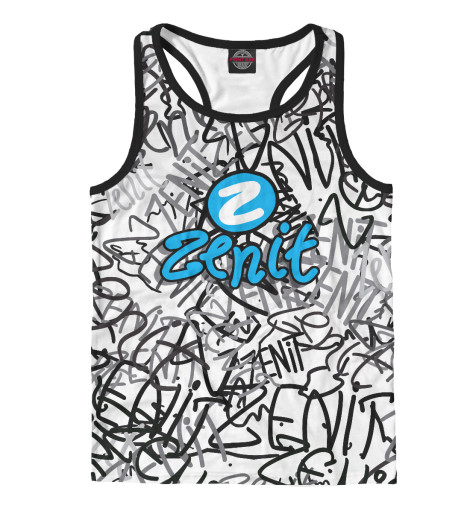 Майка борцовка Print Bar ZENIT graffiti свитшот print bar zenit