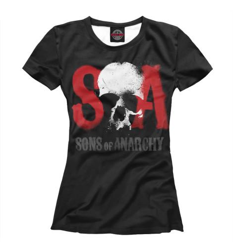 Футболка Print Bar Сыны анархии детская футболка классическая унисекс printio сыны анархии