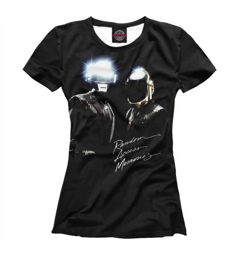 Купить Футболка для девочек Daft Punk DFP-554736-fut-1