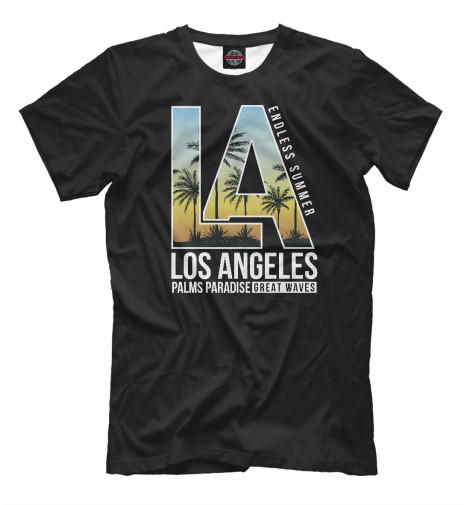 Футболка Print Bar Los Angeles водолазка marciano los angeles marciano los angeles ma087ewardh8