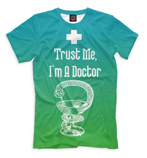 Купить Мужская футболка Верь мне VRC-692007-fut-2