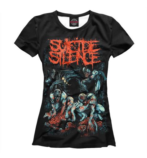 Футболка Print Bar Suicide Silence футболка print bar shogun assassin