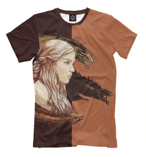 Футболка Print Bar Daenerys & Dragons майка print bar daenerys