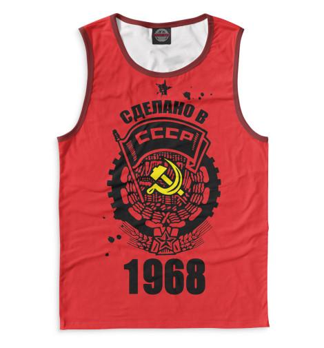 Майка Print Bar Сделано в СССР — 1968 худи print bar сделано в ссср 1968