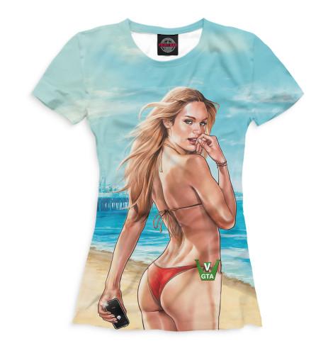Женская футболка Grand Theft Auto V