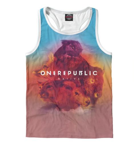 Майка борцовка Print Bar OneRepublic цена и фото