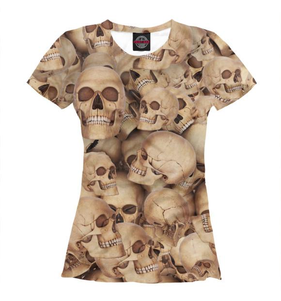 Купить Женская футболка Death's head APD-658877-fut-1