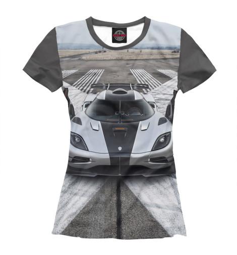 Футболка Print Bar Koenigsegg One:1 модель машины frontiart 18 koenigsegg one 1