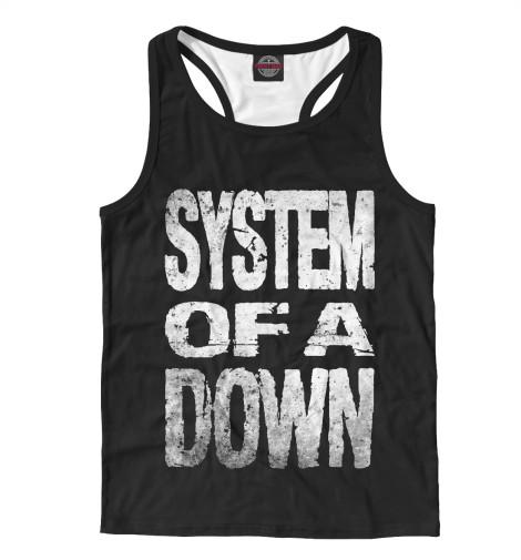 Мужская майка-борцовка System of a Down