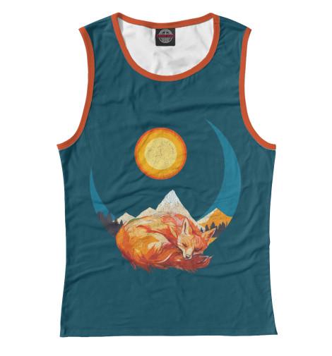 Купить Майка для девочки Лунная лиса FOX-952677-may-1