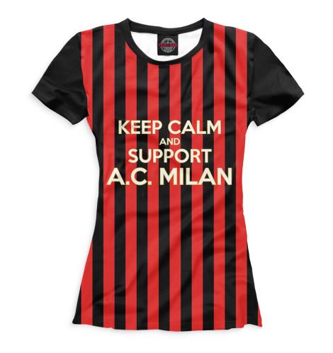 Женская футболка AC Milan