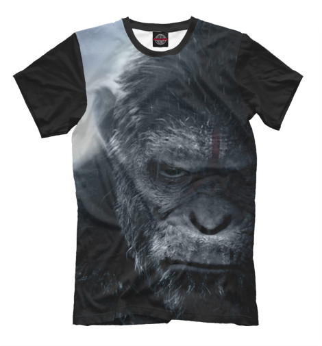 Футболка Print Bar Планета обезьян: Революция свитшот print bar война планеты обезьян
