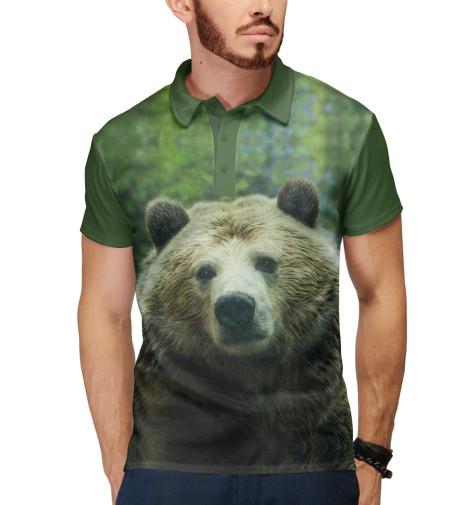 Купить Поло для мальчика Сибирь. Медведь. VSY-612350-pol-2