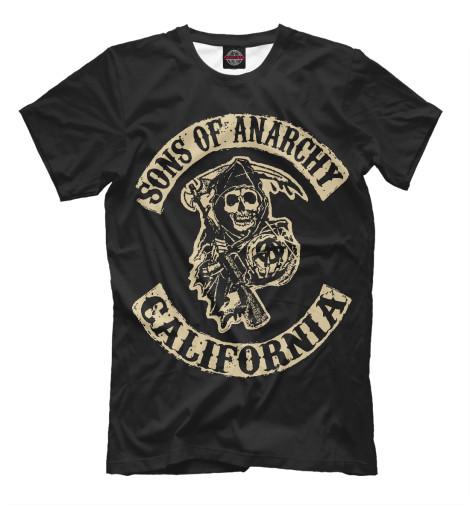 Футболка Print Bar Сыны анархии футболка print bar shogun assassin