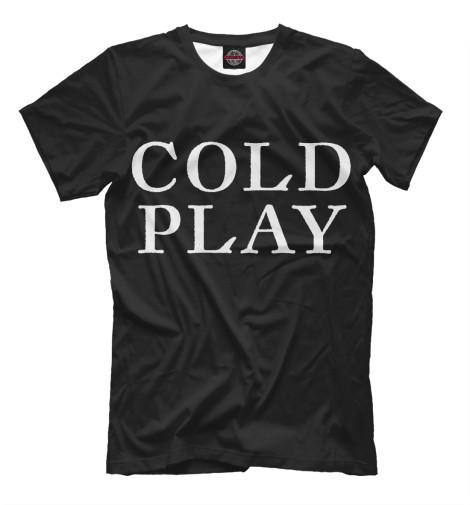 Футболка Print Bar Coldplay coldplay coldplay ghost stories live 2014 cd dvd