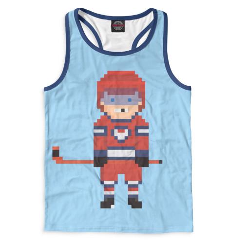 Майка борцовка Print Bar Хоккей хоккей лучшее из лучшего
