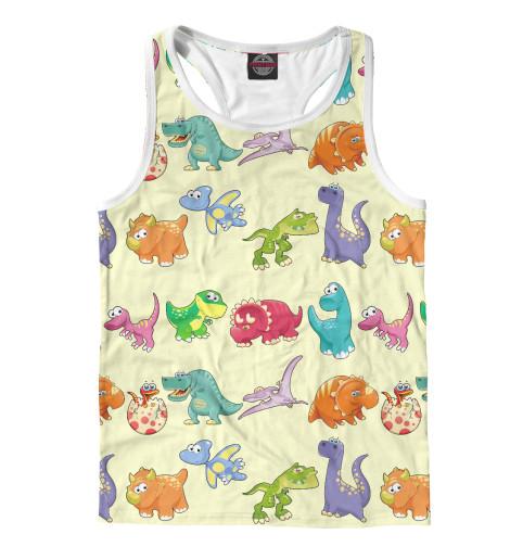 Майка борцовка Print Bar Динозаврики динозаврики для самых маленьких