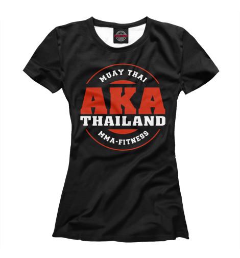 Футболка Print Bar AKA Thailand майка борцовка print bar aka thailand