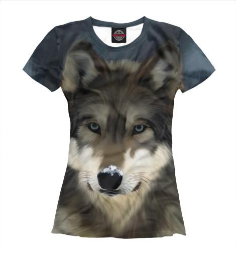 Футболка Print Bar Картинка волк футболка print bar волк тотем
