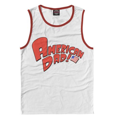 Майка Print Bar American Dad!