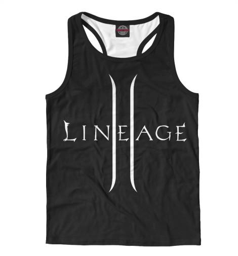 Майка борцовка Print Bar Lineage 2 inhuman vol 3 lineage